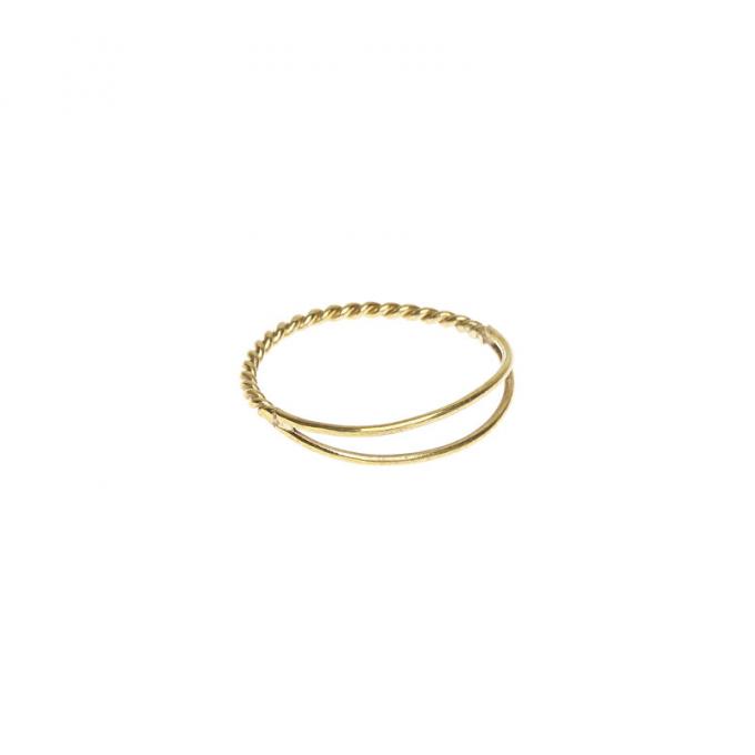 Dubble Ring Brass