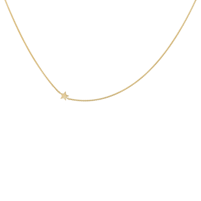 Stellar Necklace Short Goldplated