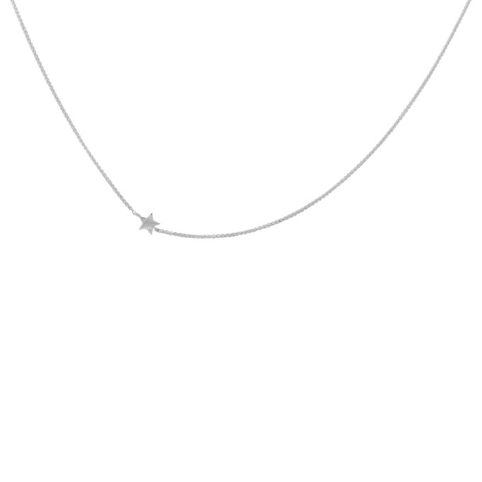 Stellar Necklace Short Silver