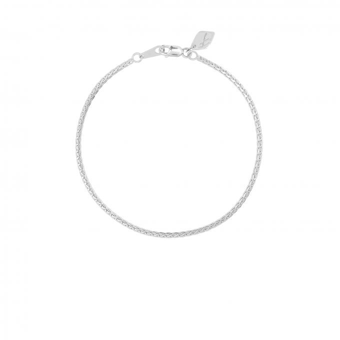 Lace Bracelet Silver