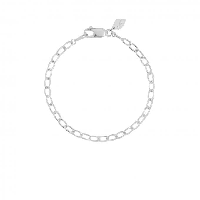 Oval Eye Bracelet Silver