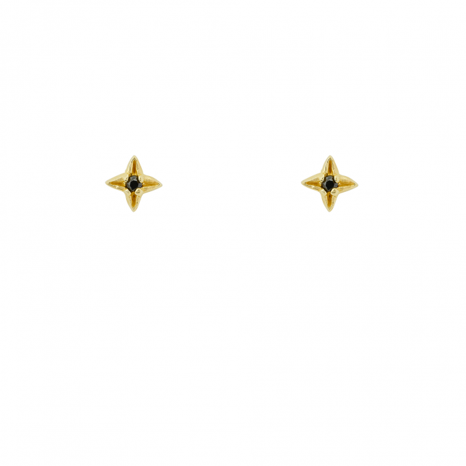 Starry Night Studs Goldplated