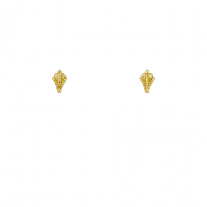 Ornamental Studs Goldplated