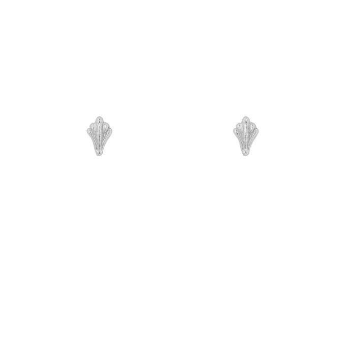Ornamental Studs Silver