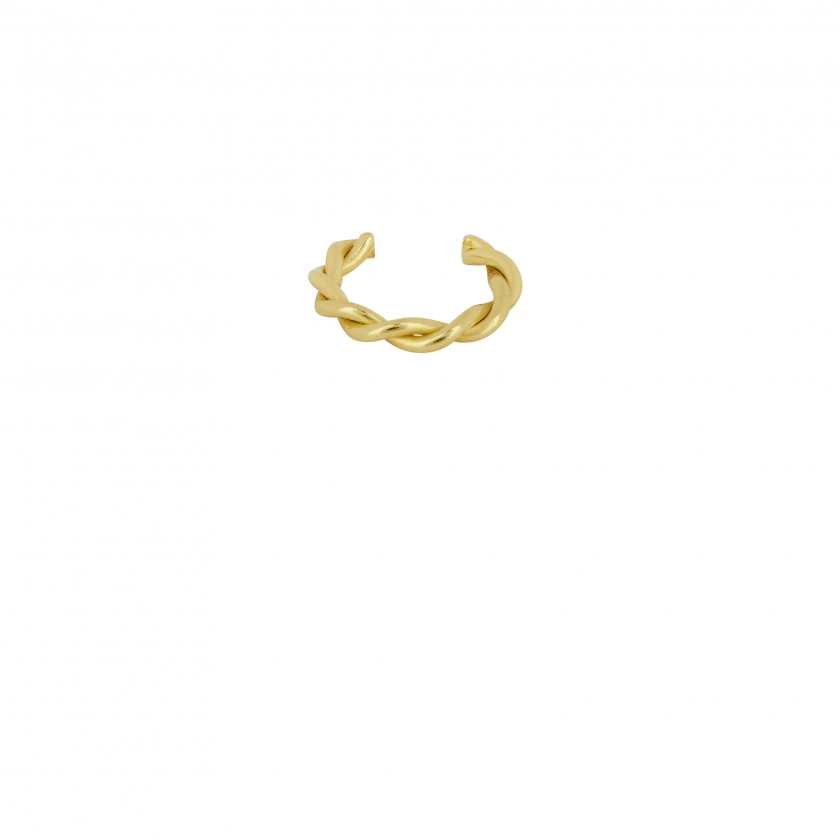 Twisted Cuff Goldplated