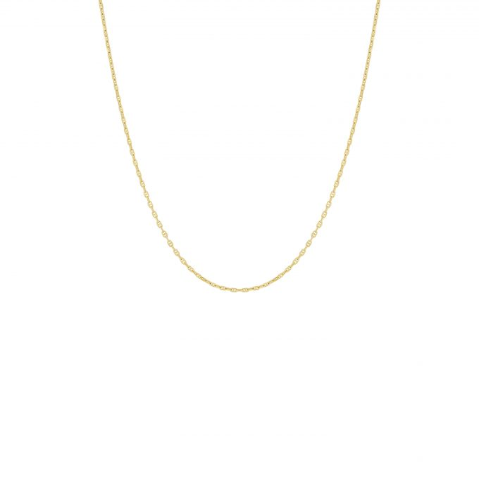 Hooked Chain Necklace Goldplated