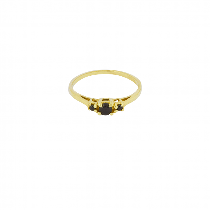 Ancient Eye Ring Goldplated