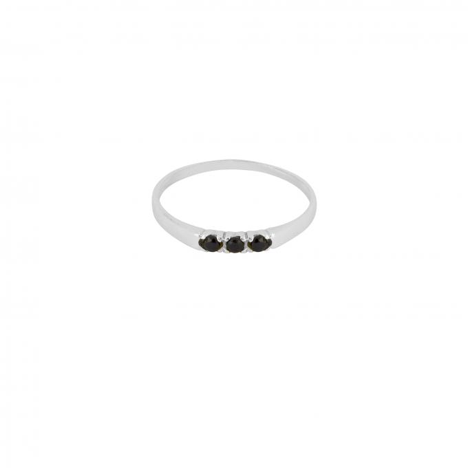 Dreamland Ring Onyx Silver