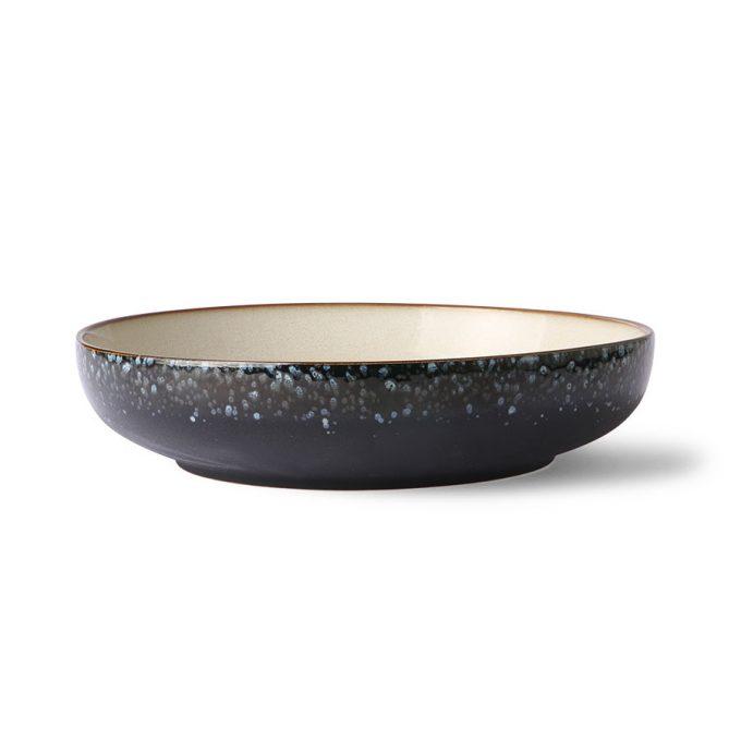 70s ceramics: salad bowl, galaxy