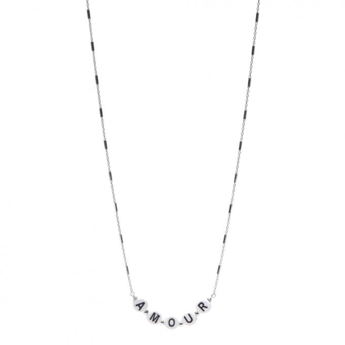 Amour Necklace Silver
