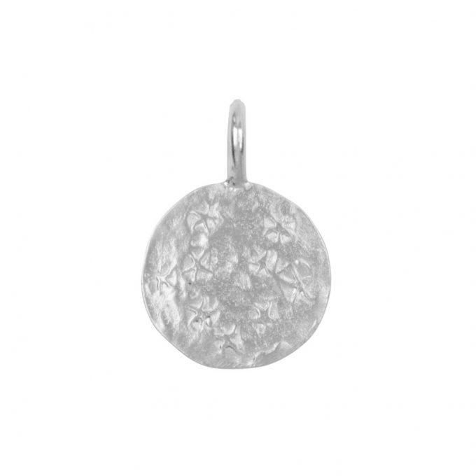 charm coin silver