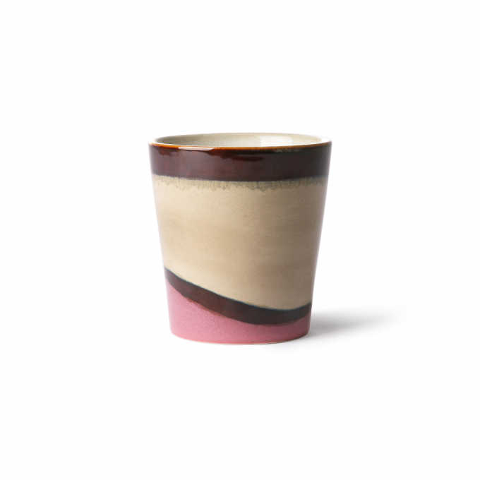 Ceramic 70's Mug: Dunes