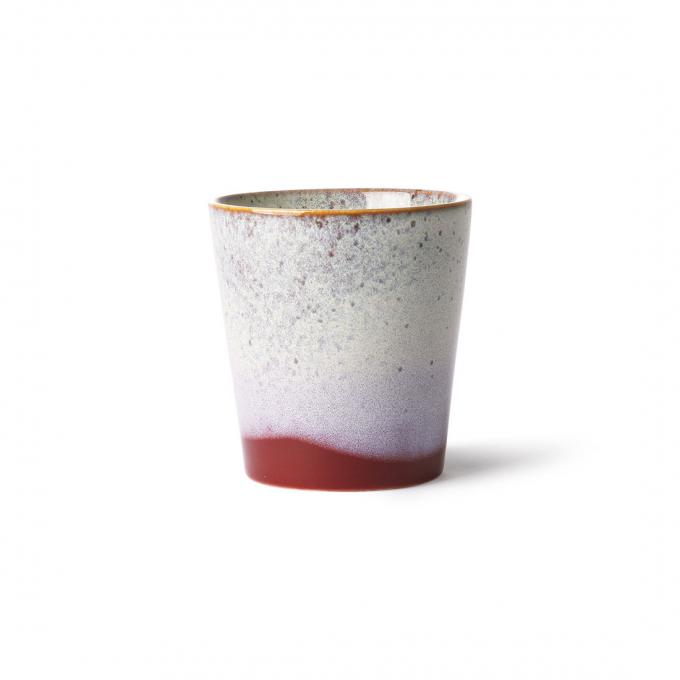 Ceramic 70's Mug: Frost