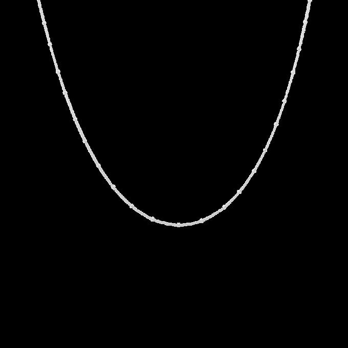 Kahlo Plain Necklace XS Silver