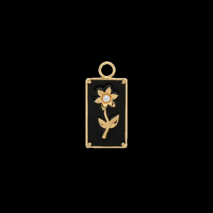 Marigold Flower Earring Goldplated