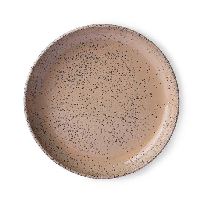 Gradient Ceramics Deep Plate Taupe (Set of 2)
