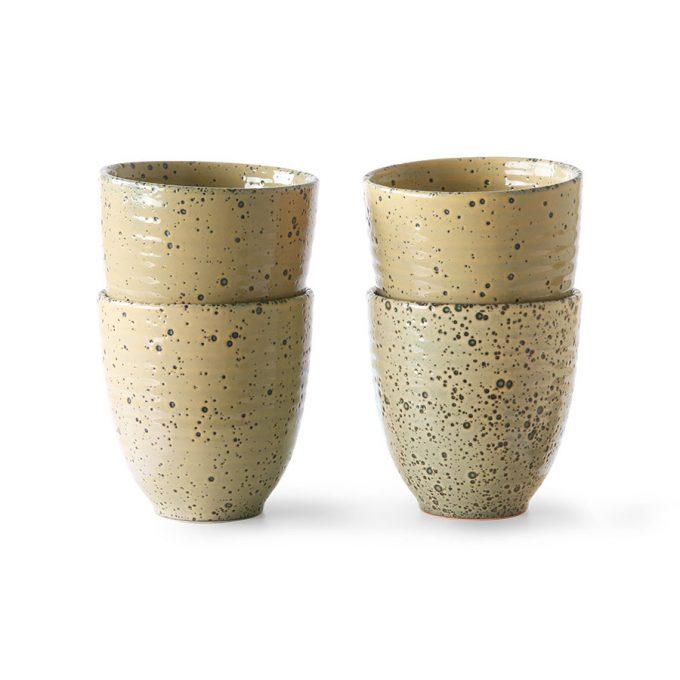Gradient Ceramics Mug Peach (Set of 4)