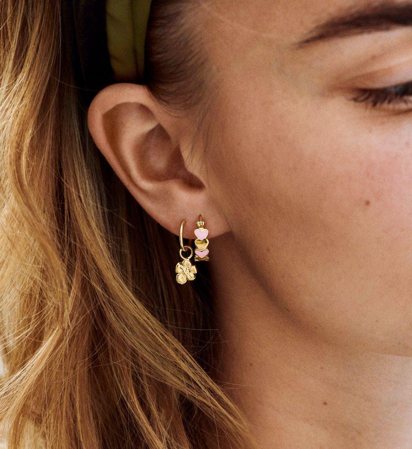 Flower earring anna+nina