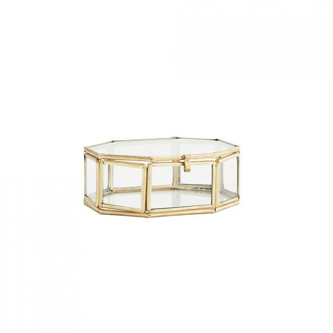 Octagonal Glass Box