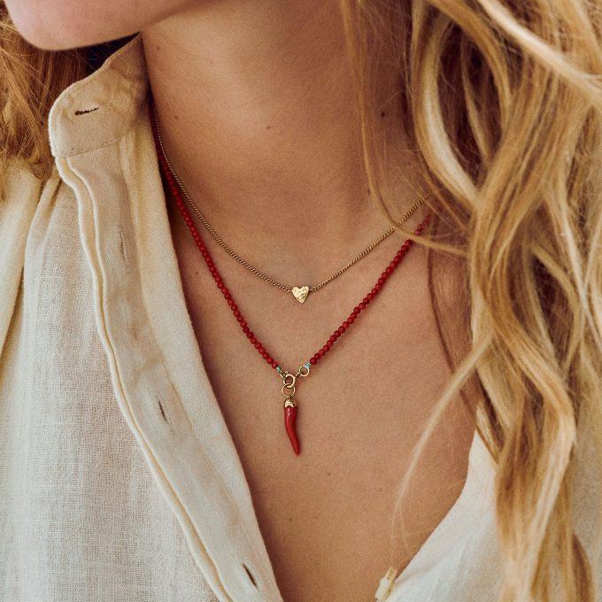 Te Quiero Necklace Silver