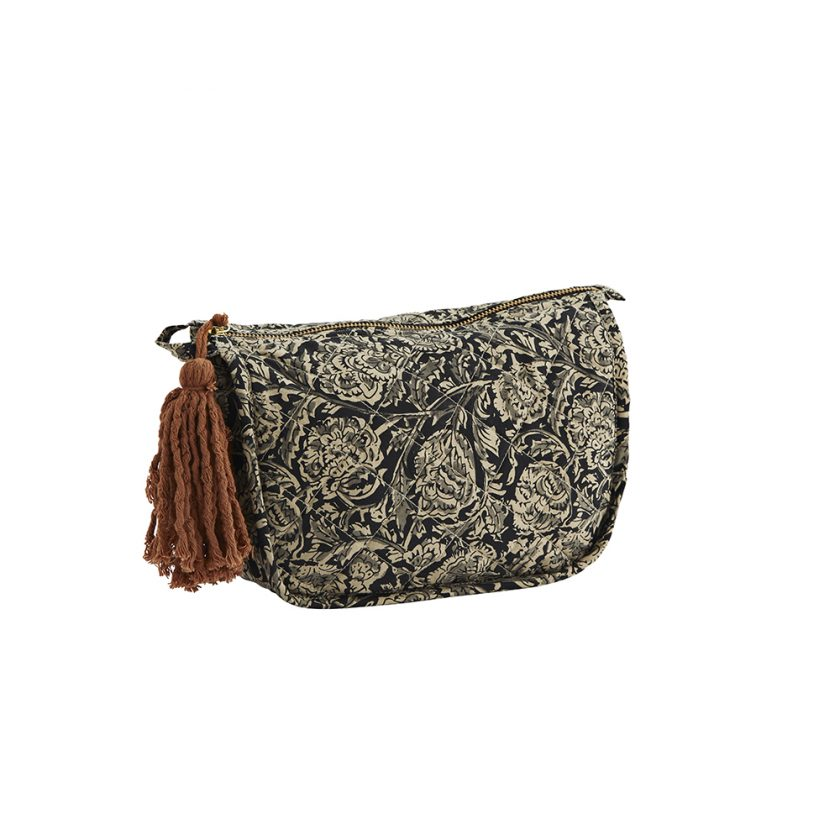 Printed toilet Bag With Tassel Small