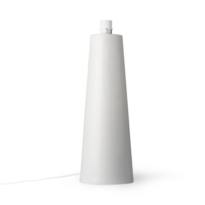 Cone Lamp Base L Matt Light Grey