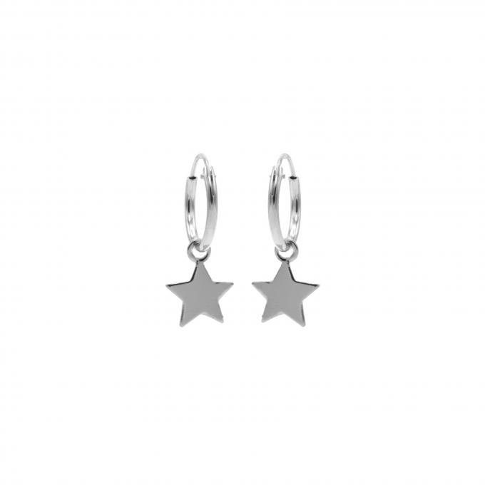 Hoops Symbols Star Silver