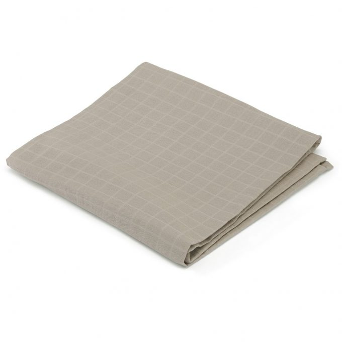 Big Muslin Swaddle Dark Clay