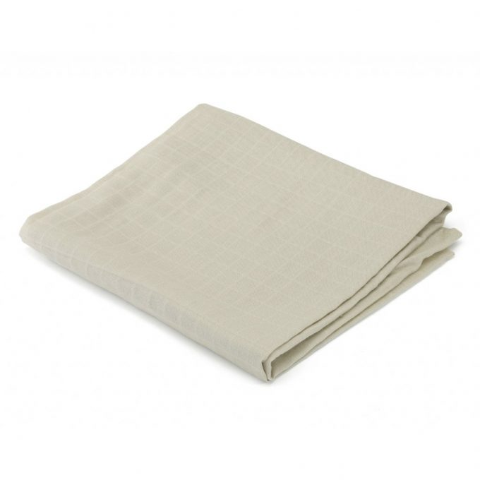 Big Muslin Swaddle Silver Birch