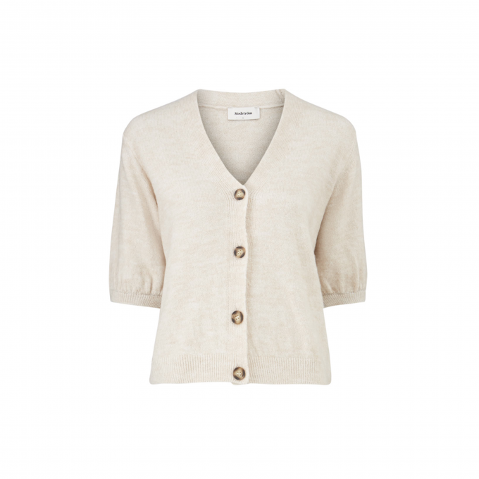 Irene Cardigan Cream Milk Voorkant