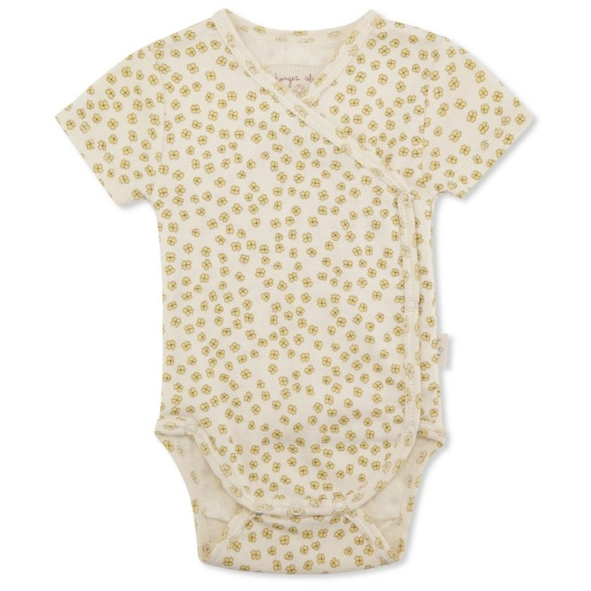 New Born Body Short Sleeve - Buttercup Yellow