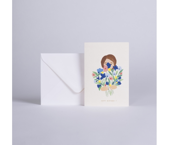 CARD HAPPY FLOWERS
