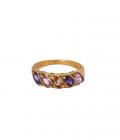 Rainbow Ring Brass
