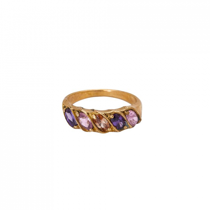 Rainbow Ring Brass