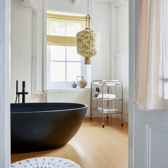Round Bath Mat Swirl
