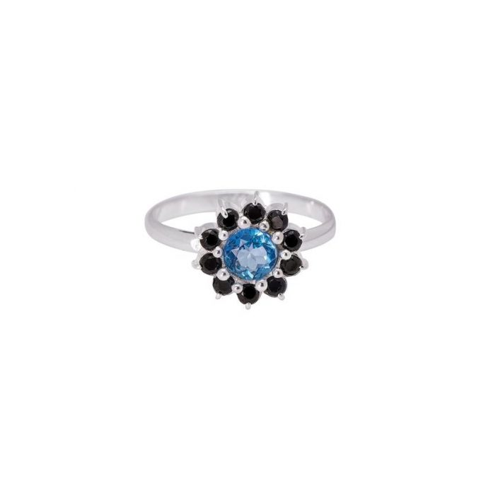 Ocean Flower Ring Silver