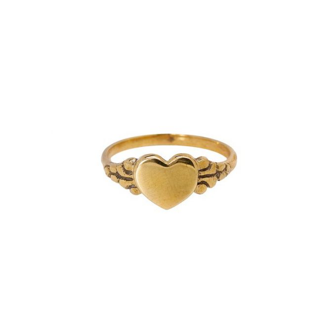 Love Ring Brass
