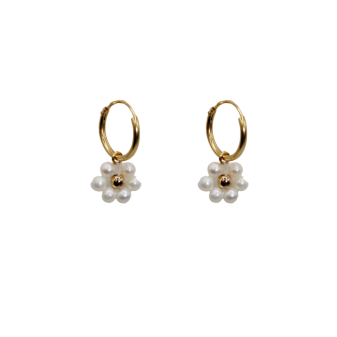 Daisy Freshwater Pearl Earrings