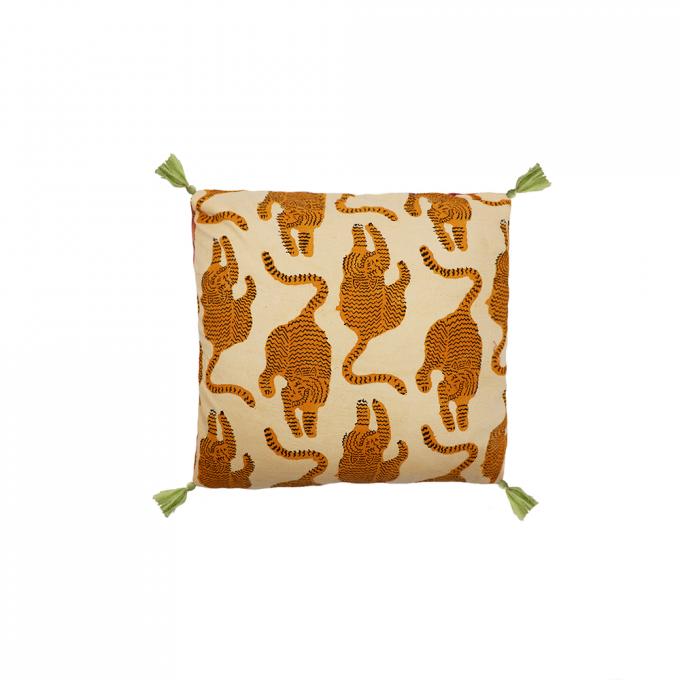 Powder Tiger Pillow Small