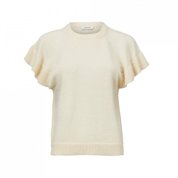 Jaime Vest - Cream Milk
