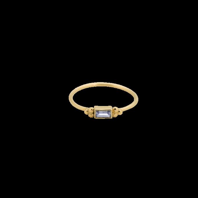 Baguette Ring Zirkonia 14K