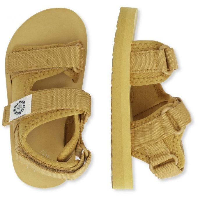 Sun Sandal - Mustard Gold