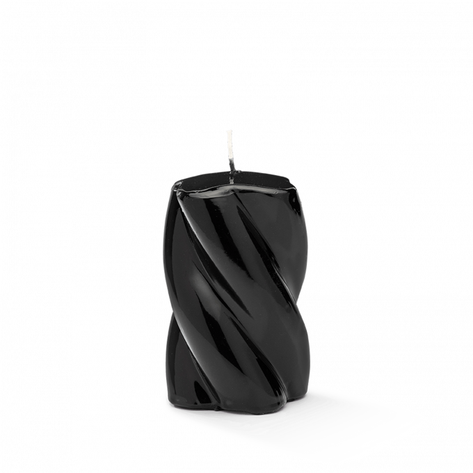 Blunt Twisted Short Candle Black
