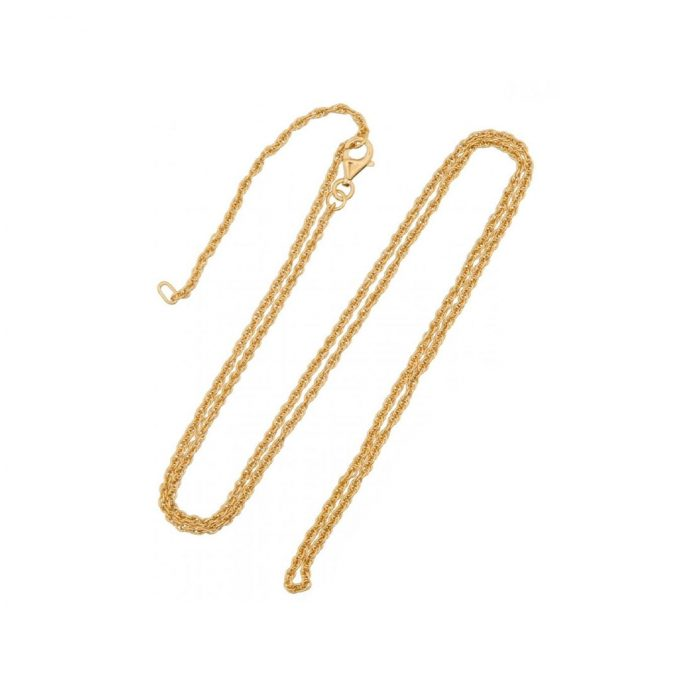 Rope Necklace Gold Vermeil