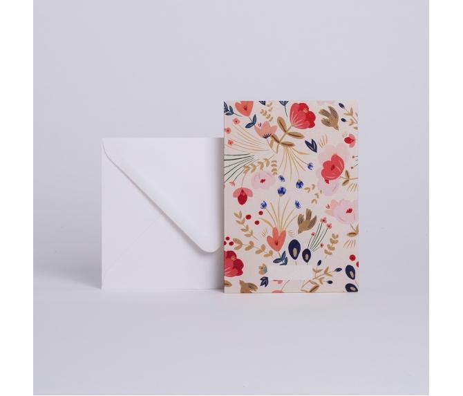 Card Fleurs