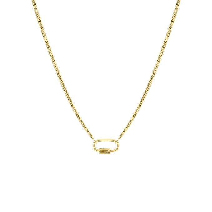 Connector Necklace Gold