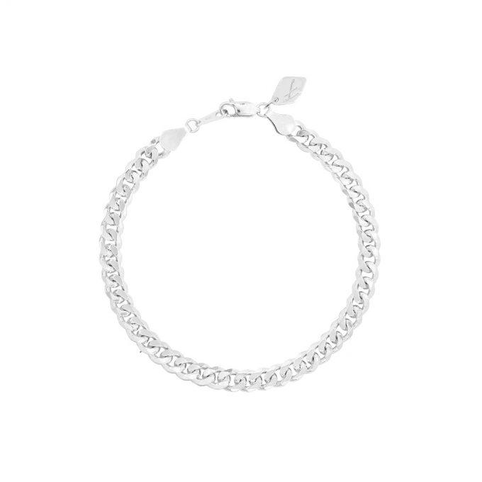 Bold Vintage Bracelet Silver